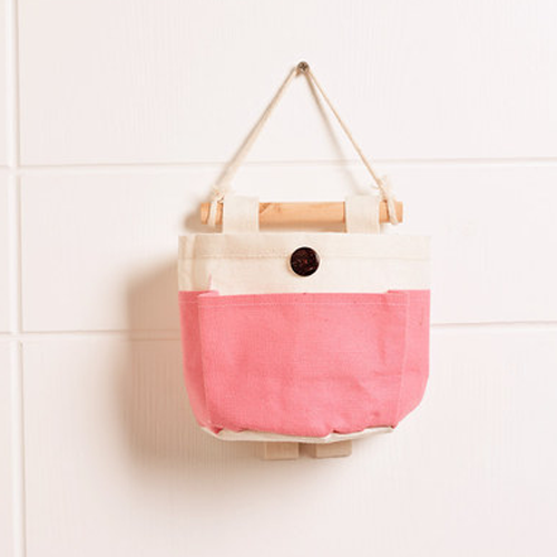 Canvas Storage Bags_Pink