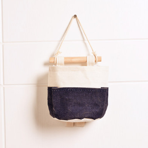 Canvas Storage Bags_Navy