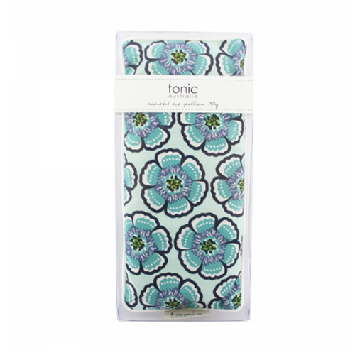 Floral Sea Green Scented Eye Pillow