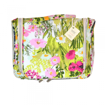 Dawn Meadow Hanging Cosmetic Bag