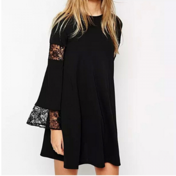 Little Black Dress, Lace Inset