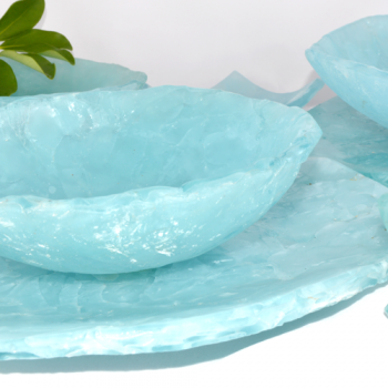 Blu Ice Medium Oval Platter