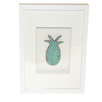 Wall art, Pineapple