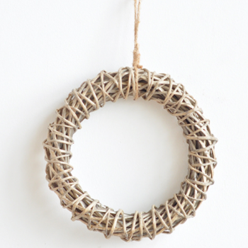 Wicker Circle Wall Hanging