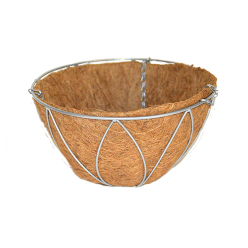 Wire Hanging Basket With Liner