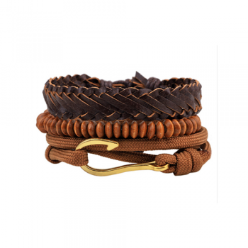 Leather Multi-Layer Bracelet Style 2