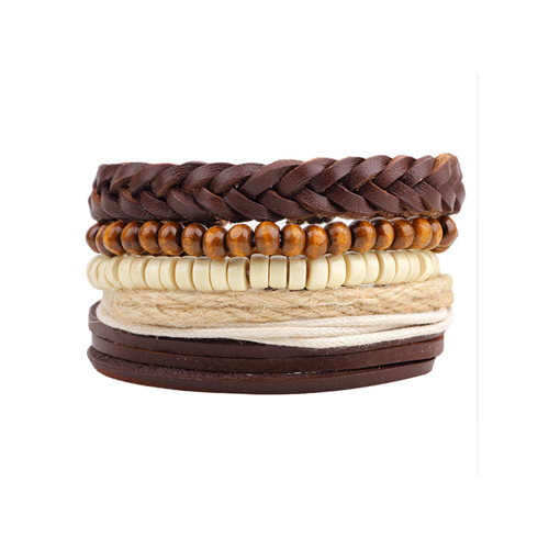 Leather Multi-Layer Bracelet Style 3