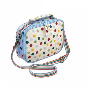 Polka Dot Thermal Lunch Bag