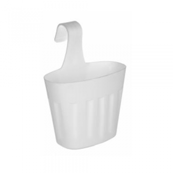 Single Saddle Planter, White