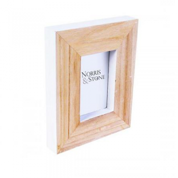 Seaview White Photo Frame