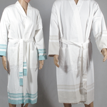 Turkish Linen Bath Robes, 2 colours