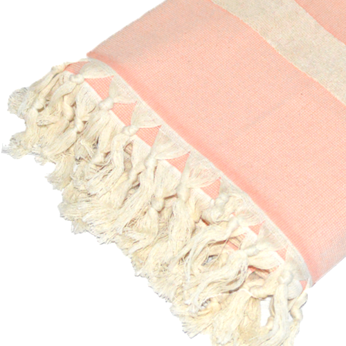 Turkish Cotton Terry Towels-Pink