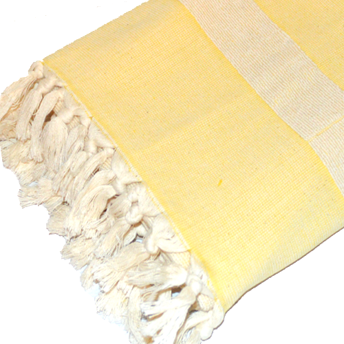 Turkish Cotton Terry Towels-Yellow