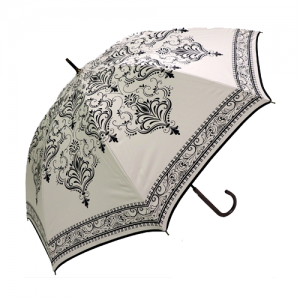 Umbrella, Black on White