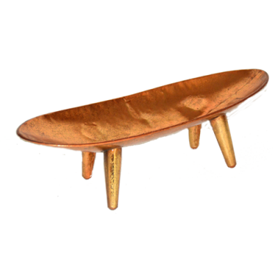 Copper Tray with legs