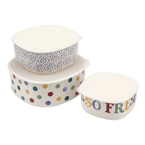 Polka Dot Storage Containers