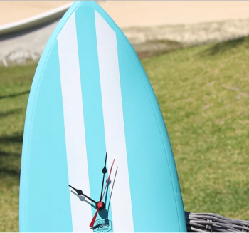 Surfboard Clocks