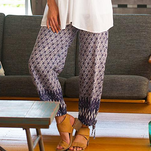 Boho Cotton Pants