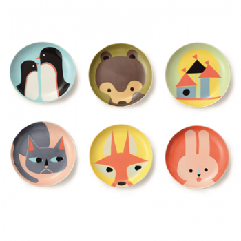Retro Animal Plate Collection