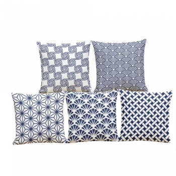 Blue & White Spring Cushion Collection
