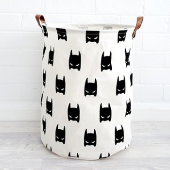 Canvas Storage Baskets_Bats