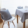Navy Striped Cushion Covers