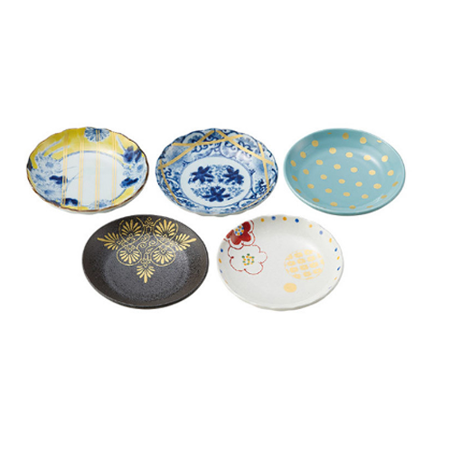 Decorative Japanese mini-plates
