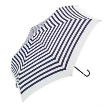 striped umbrella navy