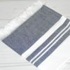 Turkish Cotton Hand Towels_Navy