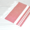 Turkish Cotton Hand Towels_Red