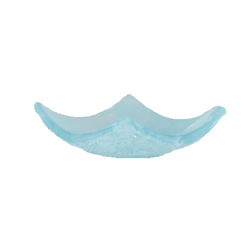Blu Ice Small Curved Plate 13cm