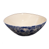 Salad Bowl, Blue & White