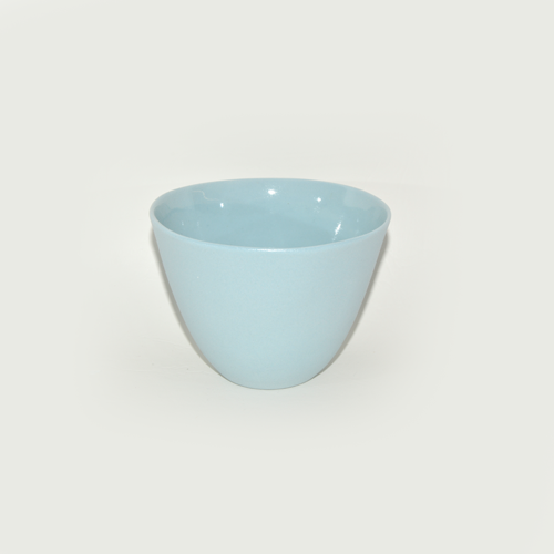 Small Round Bowl, Blue
