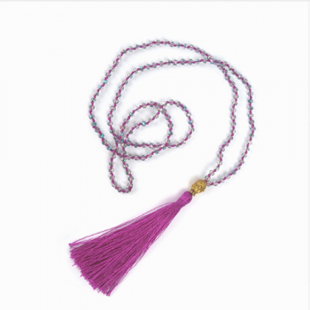 Tassel Necklaces, Magenta