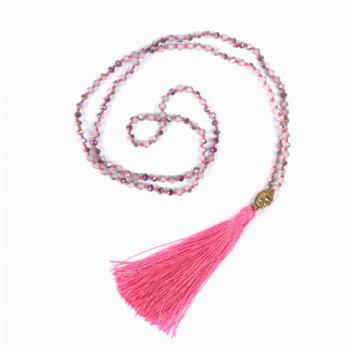 Tassel Necklaces, Pretty Pink