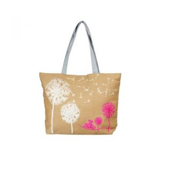 Canvas Shopping Bags - Gold & Silver
