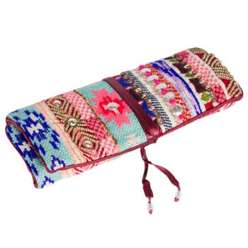 Gift Ideas - Embroidered Jewellery Roll